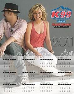 K99 2011 Calendar