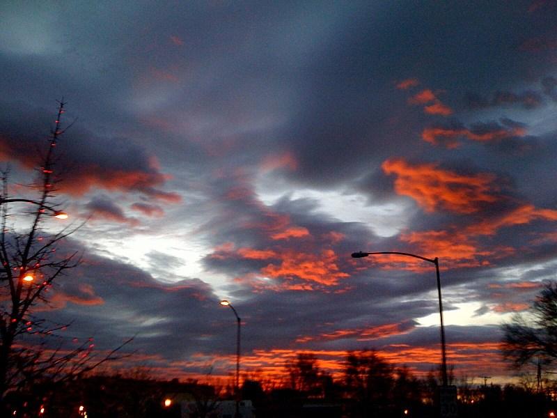 Sunrise in Windsor, CO December 15th, 2010
