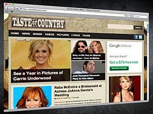 Taste Of Country Website