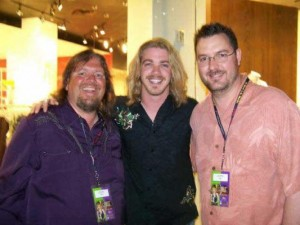 Brian and Todd with Bucky Covington