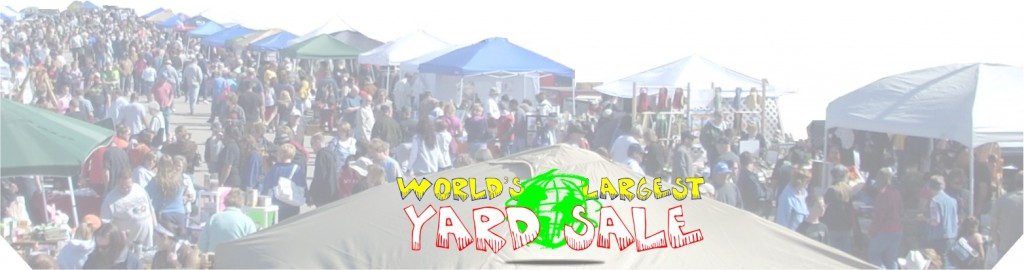 yard sale crowd