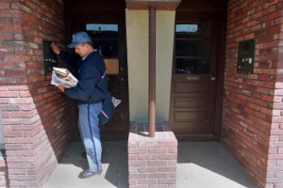 US Postal Service Mailman