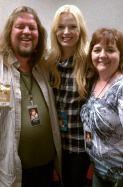 Brian, Melissa Peterman, and Kyla