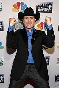 "Winner of ""The Celebrity Apprentice"" and musician John Rich"