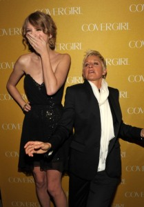 Taylor Swift and Ellen