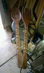 Yard Sale Spoons