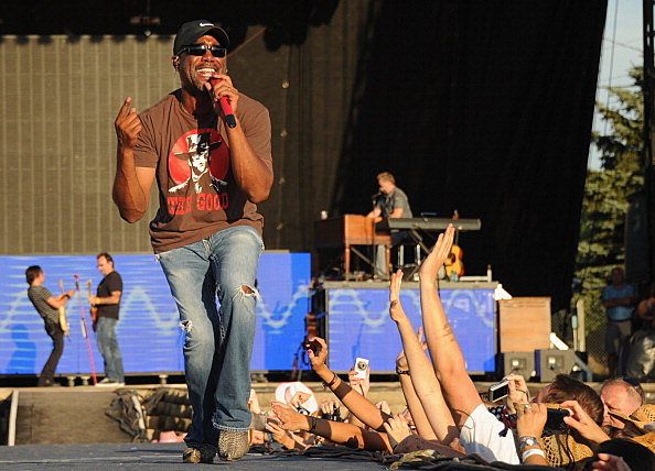 Darius Rucker  performs during Country Thunder music festival
