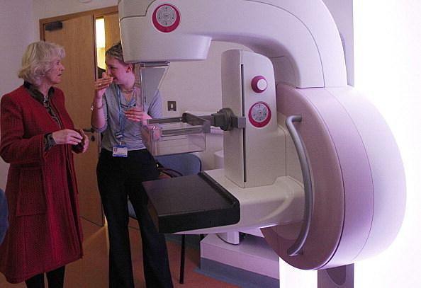 Mammogram scanner