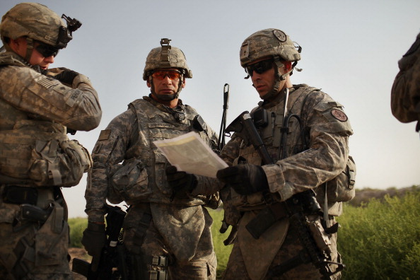 U.S. soldiers with the 3rd Armored Cavalry Regiment