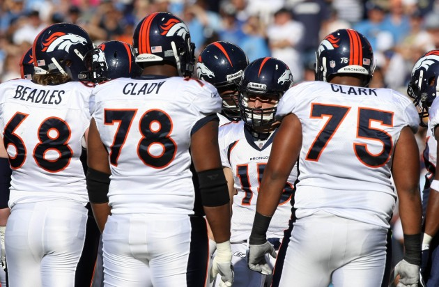 Broncos Offensive Line