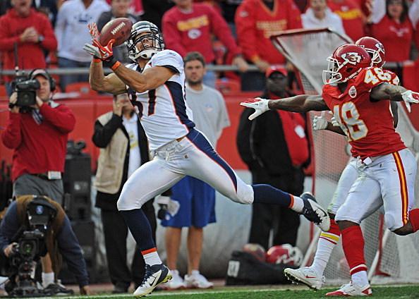 Denver Broncos Wide receiver Eric Decker