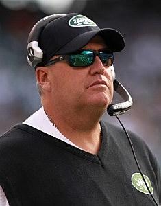 Head coach of the New York Jets, Rex Ryan