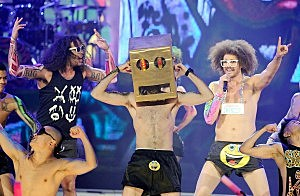 LMFAO at the American Music Awards