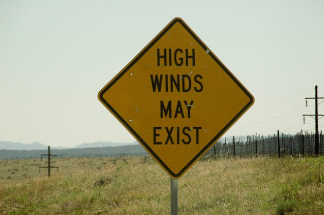 High Winds May Exist