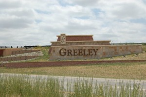 City of Greeley Sign on Highway 34