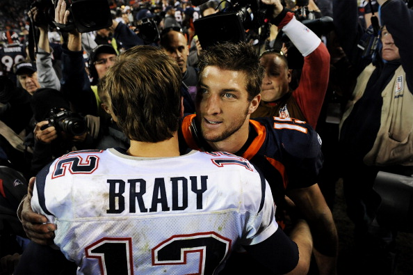 Tim Tebow & Tom Brady