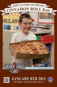 Sam Tollison Cinnamon Roll Day