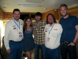 Brian & Todd with Lady Antebellum at Greeley Stampede