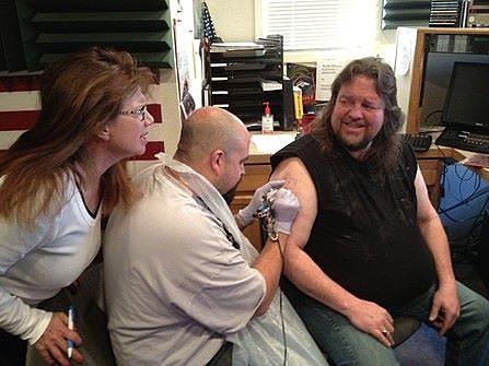 Brian Gets Twinkie Tattoo - Susan Looks on