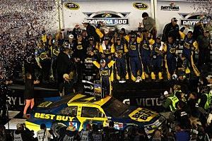54th Annual Daytona 500 winner Matt Kenseth Celebrates