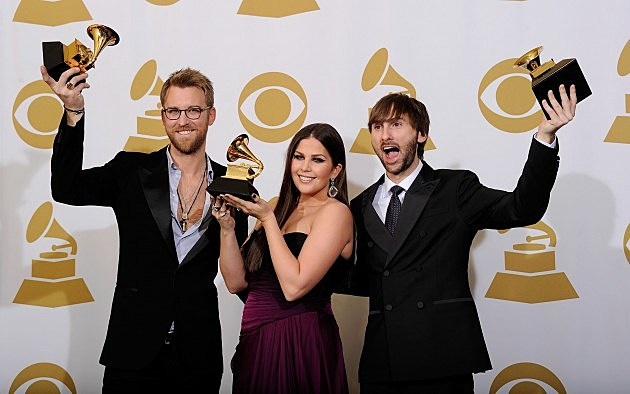 Lady Antebellum @ The 54th Annual GRAMMY Awards