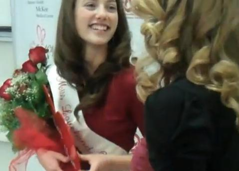 Mountain View High School senior Mary Askham recognized as 51st Miss Loveland Valentine