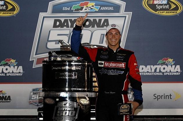 Trevor Bayne Daytona 500 - Victory Lane 2011