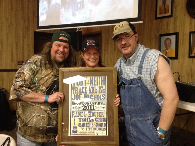 Brian and Todd hosted Redneck Gala