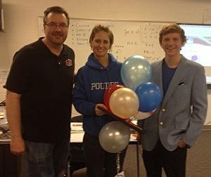 Teacher Tuesday winner Elissa Pitts Poudre High School