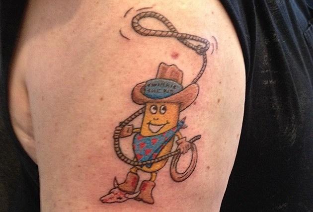 Tattoo of Twinkie the Kid
