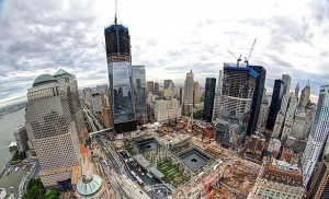 Progess is made in the reconstruction of the World Trade Center