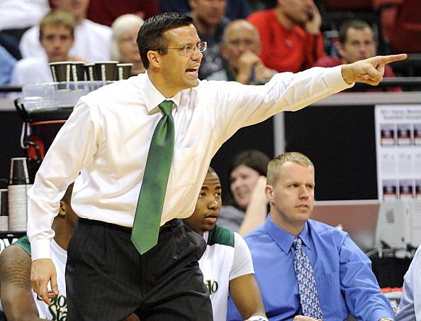 CSU Head coach Tim Miles