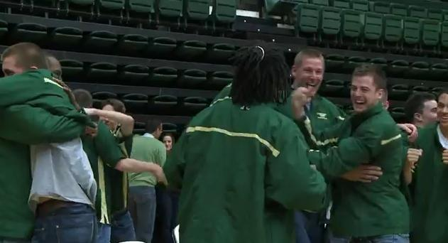 CSU Rams Celebrate NCAA Tournament Selection