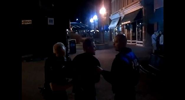 Fort Collins Arrest Video