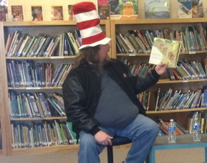 Brian Reads Dr Seuss at Livermore Elementary