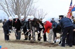 Groundbreaking Ceremony for Fallen Officer Memorial