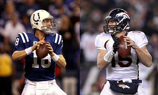 PeytonManning vs TimTebow