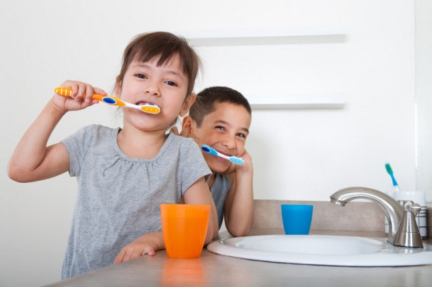 Kids BrushingTeeth