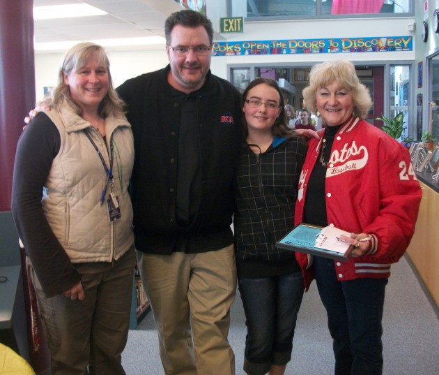 Teacher Tuesday Winners from Wellington Middle School 2/27/12