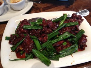 PF Changs Mogolian Beef