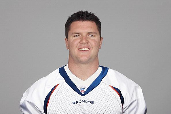 Mitch Unrein of the Denver Broncos