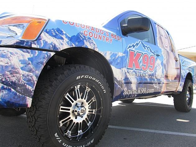 K99 Ehrlich Nissan Truck 2012 tire view