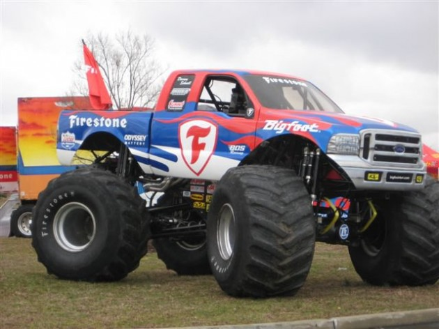 Bigfoot at Firestone Grand Opening