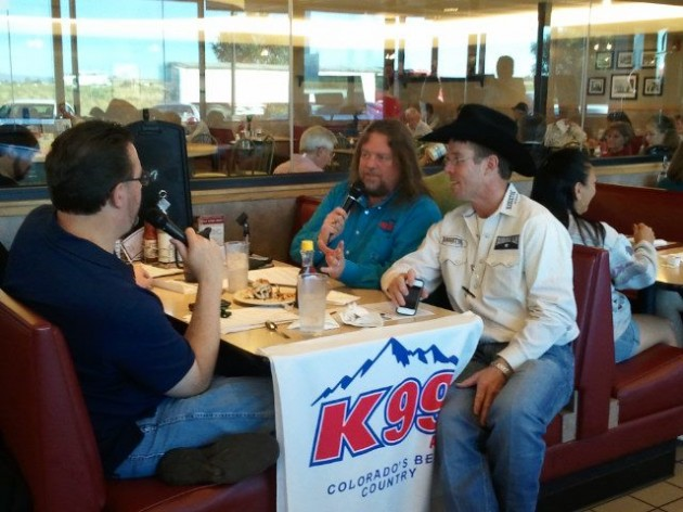 Brian and Todd have breakfast with Tuff Hedeman before last year's Finals