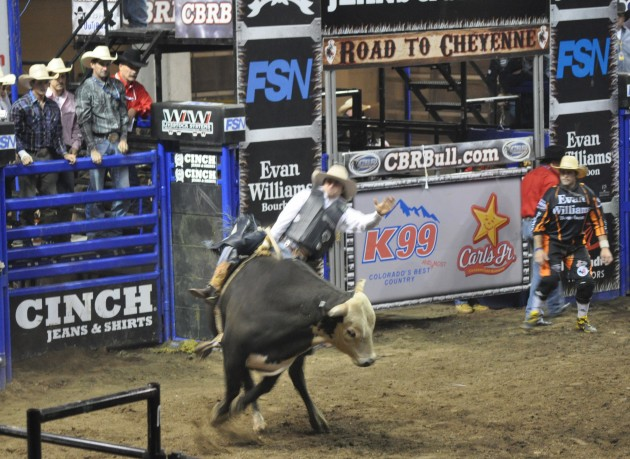 Championship Bull Riding at the Budweiser Events Center