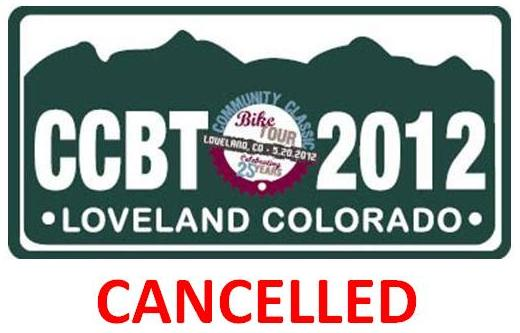 Community Classic Bike Tour Cancelled