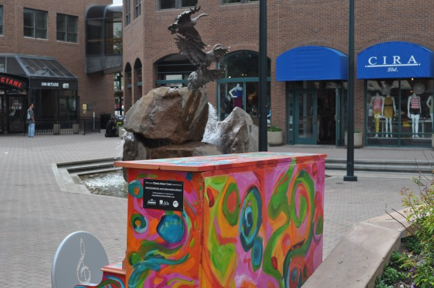 """""""Pianos About Town"""" Piano in Old Town Square"""