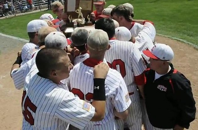 Eaton Reds Baseball Team State Champions 2012