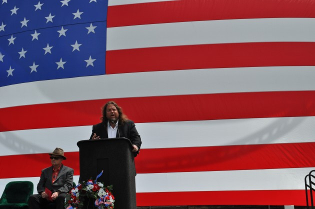 Brian Gary Keynote Speaker at Memorial Day Celebration