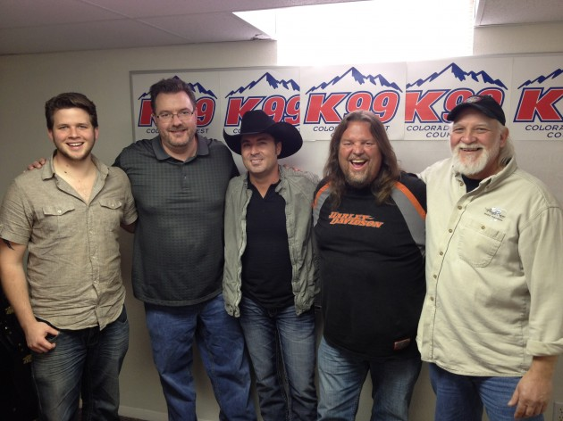Brian & Todd with Mark Cooke, Kenny Fuller, and AJ Masters